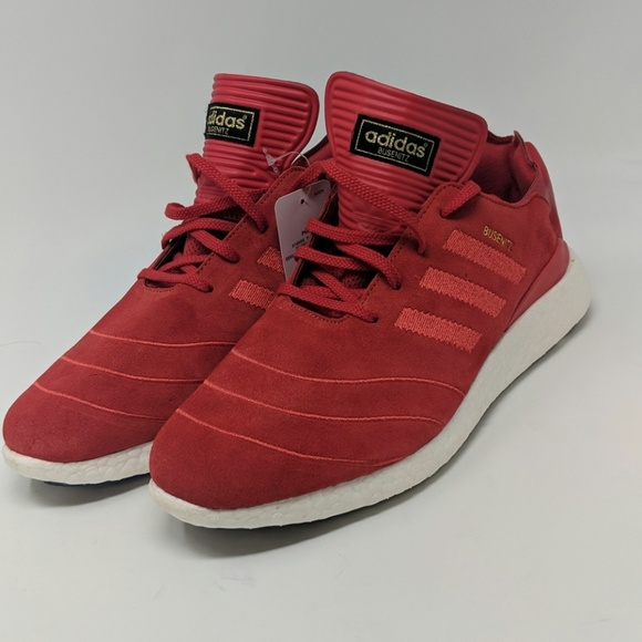 3aad7a74c Adidas Busenitz Pure Boosts Red